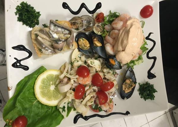 Mix di Pesce Ristorante Pizzeria Da Cristia