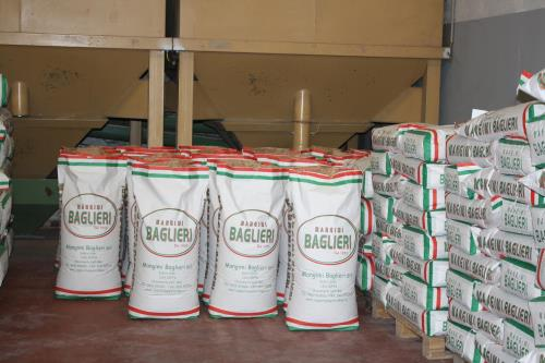 stabilimento per la produzione di mangimi di alta qualità