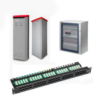 Cabinet - Quadri REC - Patch Panel
