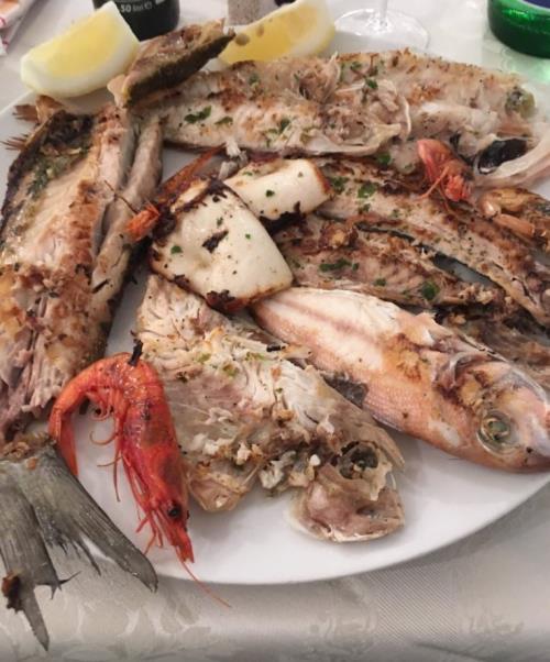 Gigliata mista di pescato del giorno