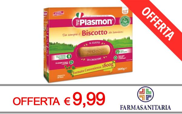 Offerta Biscotti Plasmon