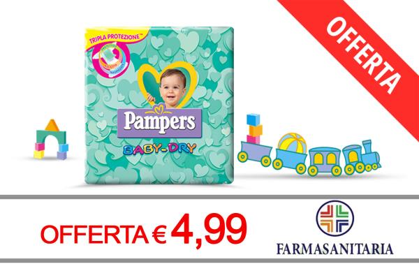 Offerta Pampers Baby Dry