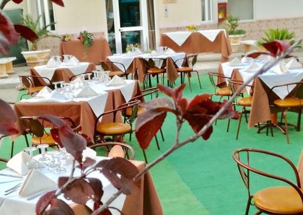 Tavoli Ristorante Basentum a Salandra Matera