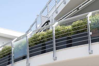 vetro per terrazze Pineto (TE)