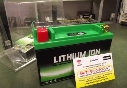 Batterie Ioni di Litio a Genova