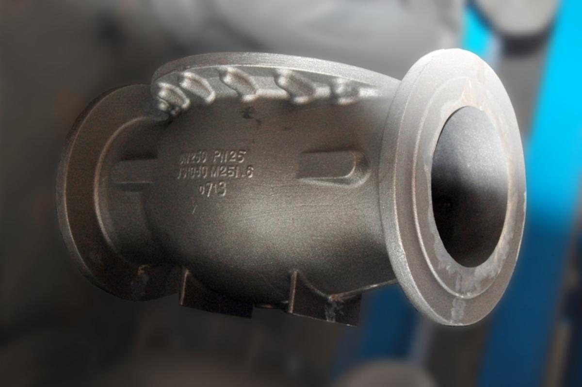 Ventilkörper in EN-GJS400-15 kg. 200