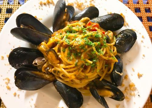 Spaghetti Cozze e Vongole a Catania
