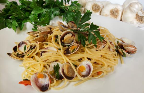 Spaghetti alle vengole