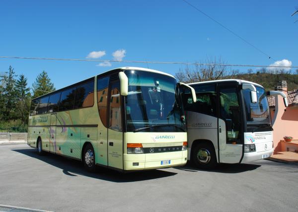 Bus Setra 56 Posti Gabrielli Autonoleggio a Genga Ancona