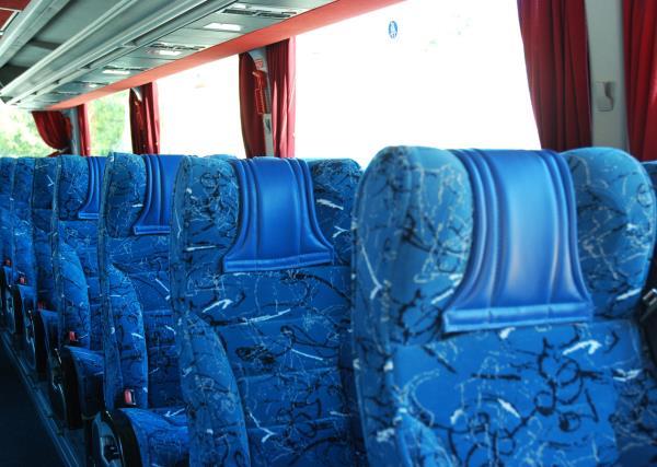 Interno Bus Mercedes 36 Posti Gabrielli Autonoleggio a Genga Ancona