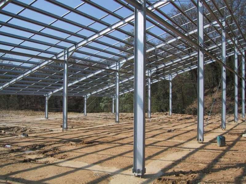 Pensilina per fotovoltaico 50 Kw in fase montaggio - Incisa Valdarno (FI)