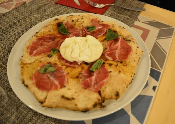 Pizza Rosso di Sera a Taranto