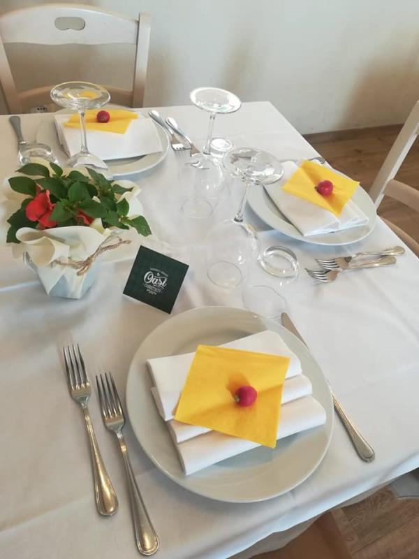 Tavolo ristorante tipico