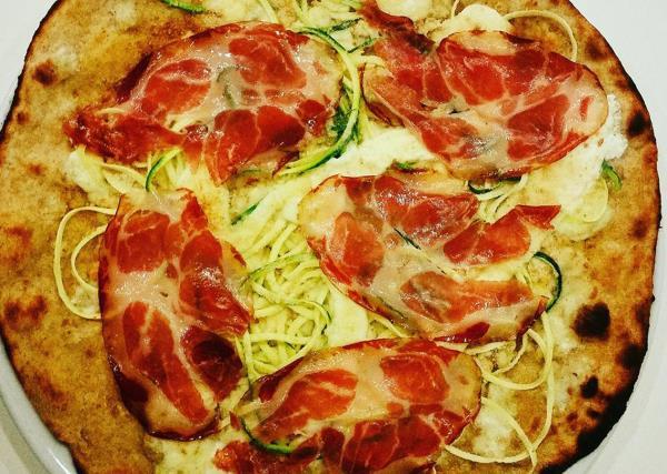 Pizza con Farina Biologica Degustibus a Modugno Bari