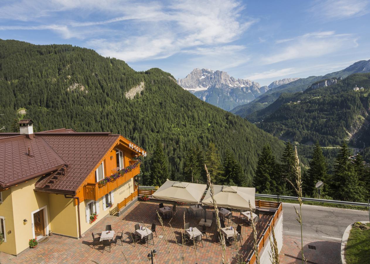 Terrazza Panoramica B&B Excelsior a Livinallongo del Col di Lana Belluno