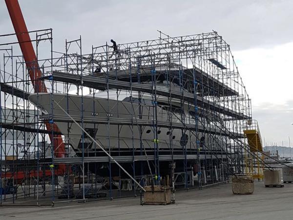 Cantieristica Navale G.E. Ponteggi a Montemarciano Ancona