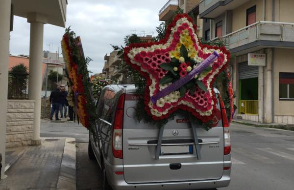 Victoria Funeral a Vittoria Ragusa