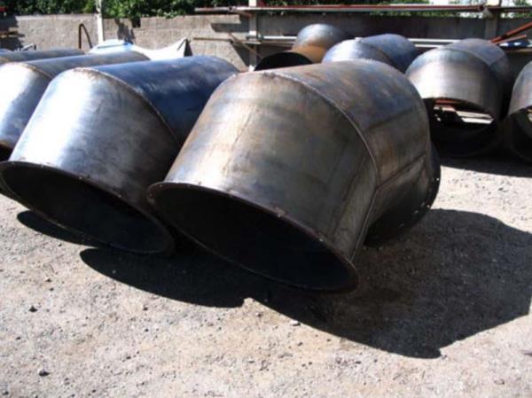 Pezzi speciali di tubazione DM.950 per trasporto aria