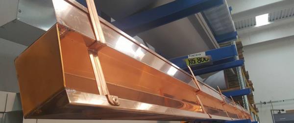 Grondaia Rame Con Accessori Installati IcoMetal a Ancarano Teramo