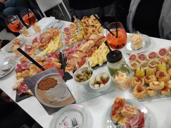 buffet apericena non solo dolci
