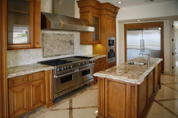 Ripiani in marmo per cucine