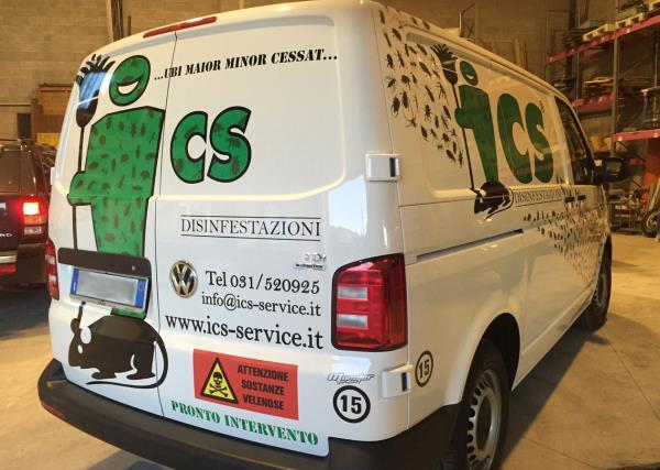 Furgone ICS Service a Senna Comasco