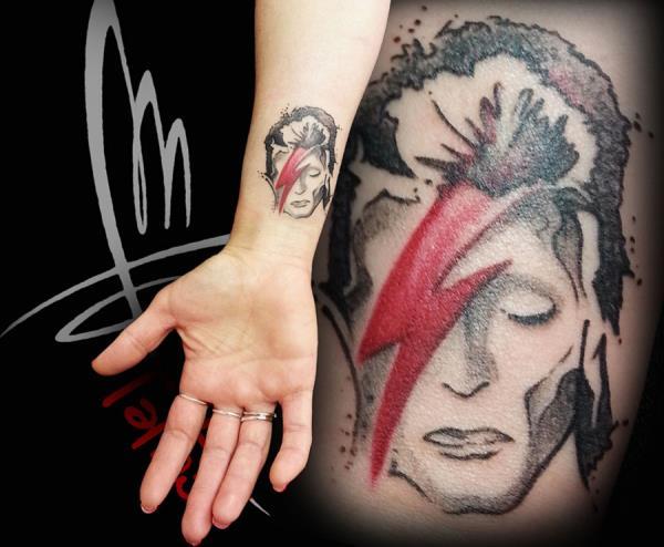 tatuaggio volto