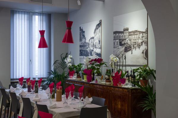 sala romantica ristorante brescia