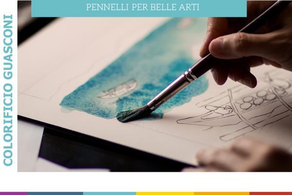 Pennelli per Belle Arti Colorificio Guasconi a Pavia