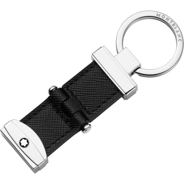 Portachiavi Sartorial in pelle stampa Saffiano con sistema a perno<br>108692<br>€155
