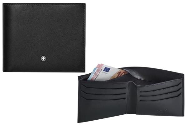 Portafoglio a 6 scomparti con tecnologia Montblanc Shield (fodera che blocca l