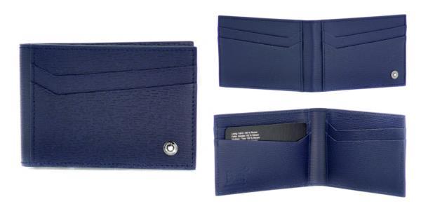 Porta carte di credito pieghevole a 8 scomparti linea 4810 Westside<br>118661<br>€210