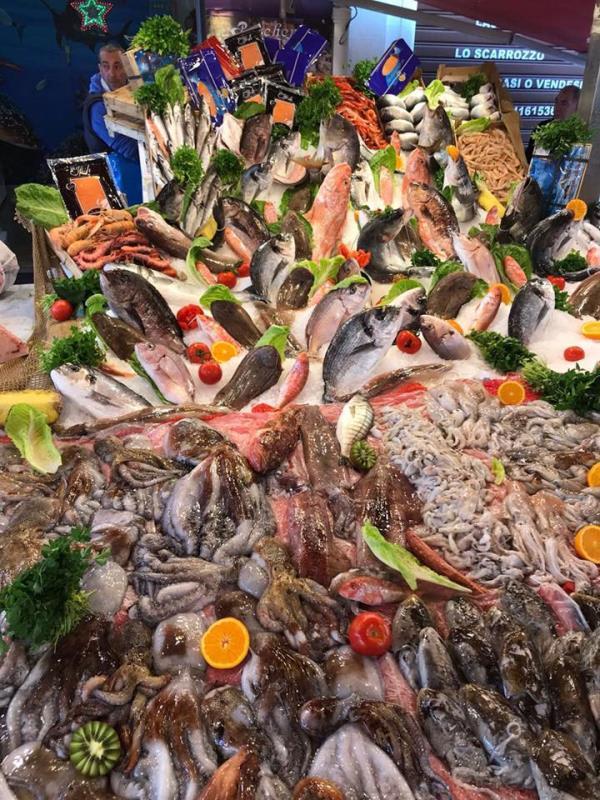 Qualità e freschezza - Pesce fresco - Pescheria Pisano Palermo