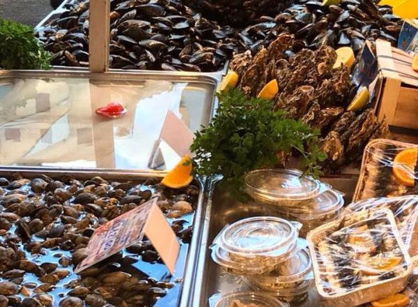 Crostacei e Molluschi - Pescheria Pisano Palermo