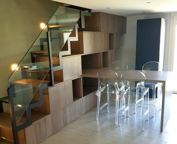scale in legno di design brescia