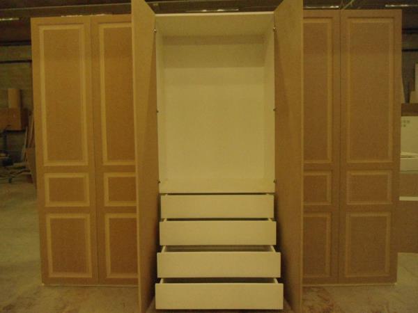 armadio con cassettiera bs