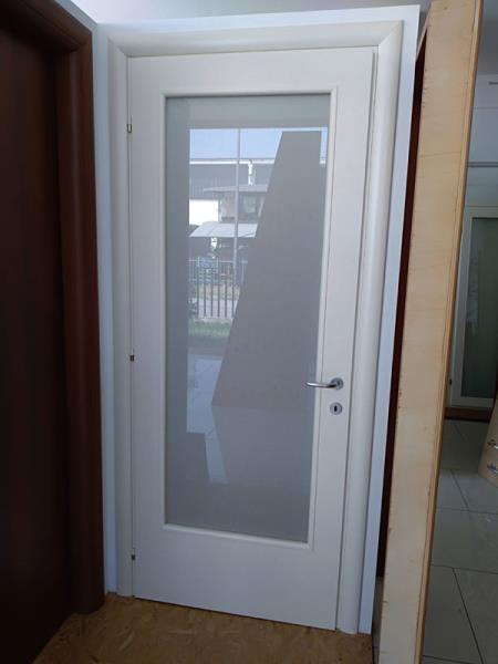 porta con vetro brescia