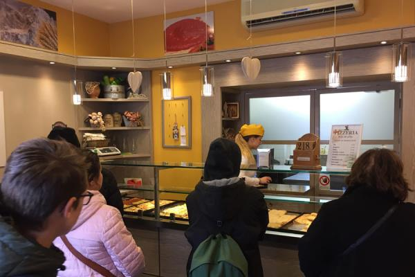 Interni pizzeria al taglio
