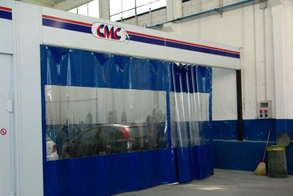 Area operativa autocarrozzeria
