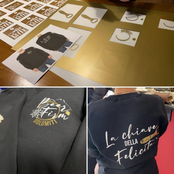 magliette felpe stampa personalizzazione