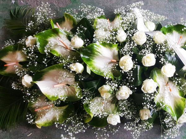 Fiori cerimonia funebre