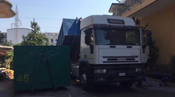 Trasporto e smaltimento rifiuti da costruzione e demolizione