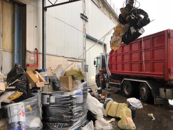 Ritiro rifiuti speciali pericolosi