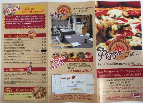 Il nostro menu