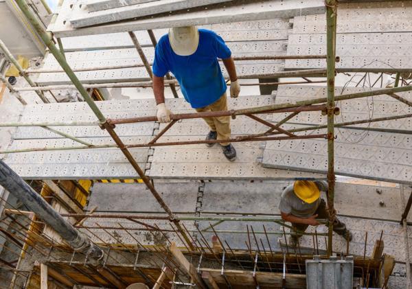 Impalcatura per lavori edili