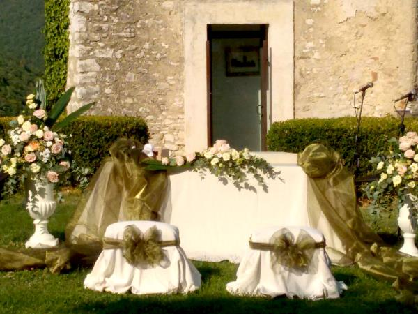 Creazioni floreali matrimonio