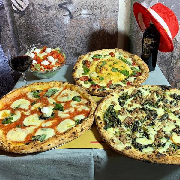 Pizza napoletana tradizionale