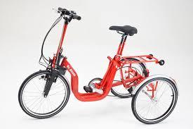 Triciclo per adulti pieghevole