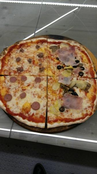Servizio pizza al taglio