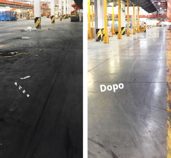 Lucidatura pavimenti industriali